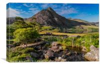 Tryfan Mountain Valley, Canvas Print