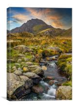 Tryfan Mountain Snowdonia Wales, Canvas Print