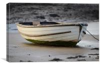 Waiting for high tide, Canvas Print