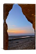 Sunset at Hunstanton, Canvas Print