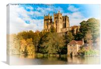 Majestic and Mighty Durham, Canvas Print