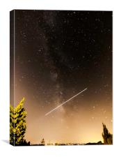 Crossing the Milky Way2, Canvas Print