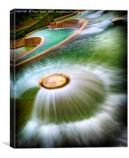Water Water..., Canvas Print