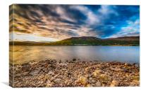 Fading Light - Loch Rannoch, Canvas Print