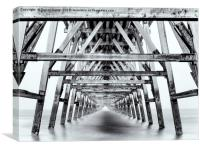 From Pier to Infinity - SFX, Canvas Print