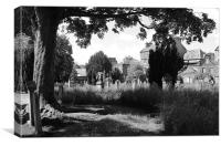 Greyfriars Burial Ground, Perth, Canvas Print