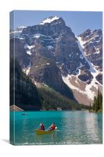 Moraine Lake, Banff, Canvas Print