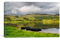 Watendlath Tarn, Lake District, Canvas Print