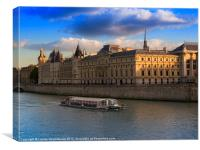 Conciergerie, Paris, Canvas Print