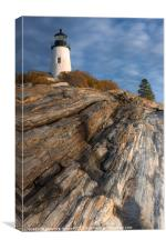 Pemaquid Point Light II, Canvas Print