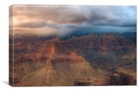 Storm Over Grand Canyon, Canvas Print