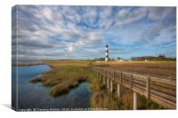 Bodie Island Lighthouse I, Canvas Print