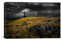 Stoodley pike, Canvas Print