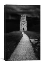 Glastonbury tor, Canvas Print