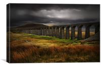 Ribblehead viaduct, Canvas Print
