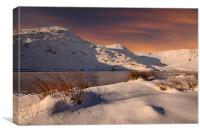 Winter in Kentmere, Canvas Print