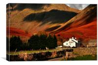 Wasdale Inn, Canvas Print