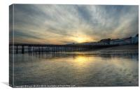 Hastings Sunset, Canvas Print