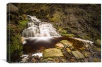 Grindsbrook Clough Edale, Canvas Print