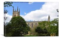 St Lukes Church and Gardens, Canvas Print
