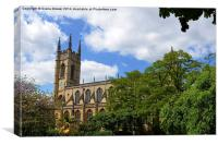 St Lukes Church Chelsea, Canvas Print