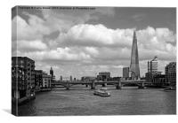 Thames View, Canvas Print