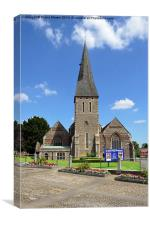 St Michaels Braintree, Canvas Print