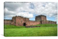 Carlisle Castle, Canvas Print