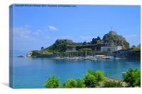 The Old Fort Corfu, Canvas Print