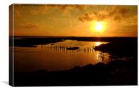 Tollesbury Wick, Canvas Print