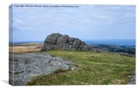 Haytor Dartmoor, Canvas Print