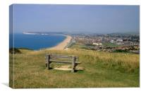 Seaford Head East Sussex, Canvas Print