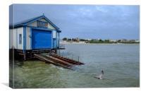 The Old Lifeboat Station Clacton Pier, Canvas Print