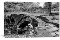 Wycoller Packhorse Bridge, Canvas Print