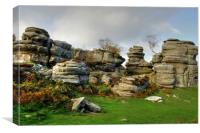 Brimham Rocks Yorkshire, Canvas Print