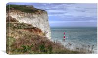 Beachy Head Sussex, Canvas Print