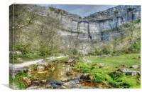 Malham Cove Yorkshire, Canvas Print