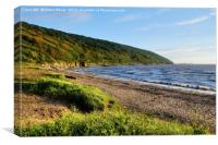 Early evening Sand Bay , Canvas Print