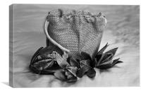 Gift wrapped Cotton Squares, Canvas Print