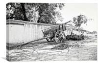 Indian Village Outskirts, Canvas Print