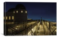 Observatory South, Canvas Print