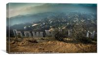 Hollywood Sign, Canvas Print
