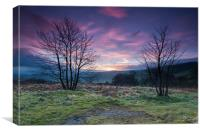 Hope Valley Sunrise, Canvas Print