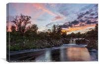 Low Force Sunset, Canvas Print