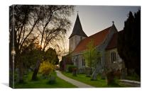 Bosham Church, Canvas Print