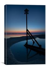 West Wittering Dusk, Canvas Print