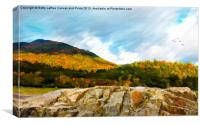 Adirondack Autumn, Canvas Print