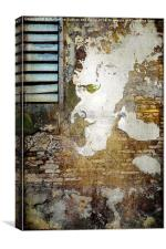 The Man on the Wall, Canvas Print