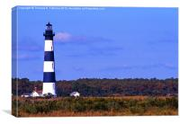 Bodie Island Lighthouse, Canvas Print