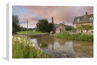 Lower Slaughter, Canvas Print
